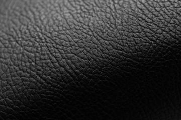 Keuken foto achterwand Leder Background of black leather
