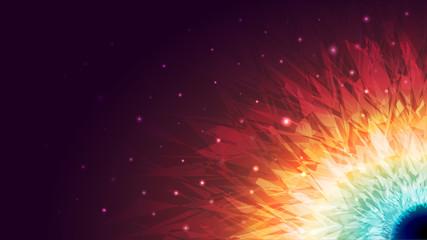Shining Galaxy Background