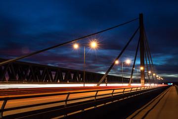 Rheinbrücke bei Karlsruhe