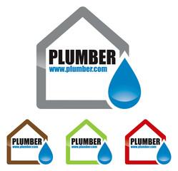logo plombier artisan