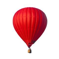 Poster Ballon Hot Air Red balloon
