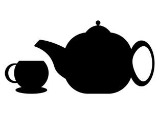 çaydanlık ve bardak