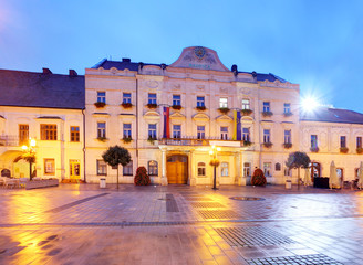 Printed kitchen splashbacks Athens City hall in Trnava, Slovakia