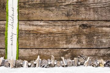 Holzhintergrund weihnachtlich Weihnachten