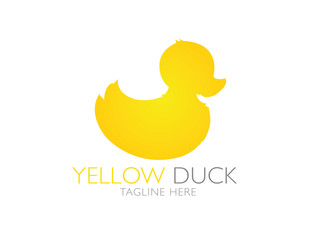 Yellow duck logo