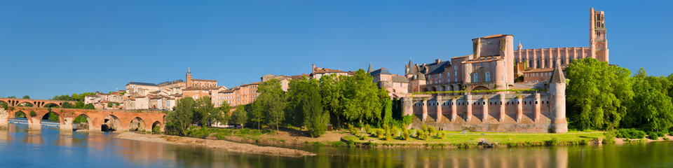 Panorama of Albi