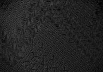 Aztec pattern material embossed