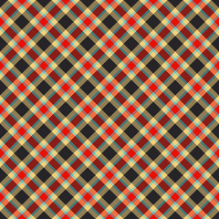traditional tartan textile pattern