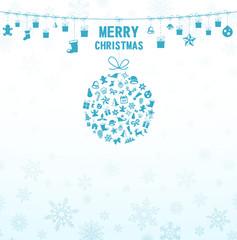 Weihnachten Kugel