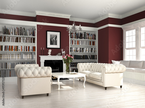 wohnzimmer mit kamin im country style stockfotos und. Black Bedroom Furniture Sets. Home Design Ideas
