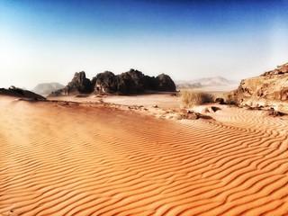 Deserto Wadi Rum in Giordania