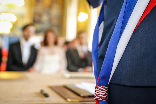 Mariage civil français
