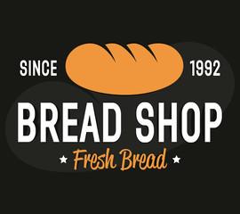 Bakery logo, label or badge design elements