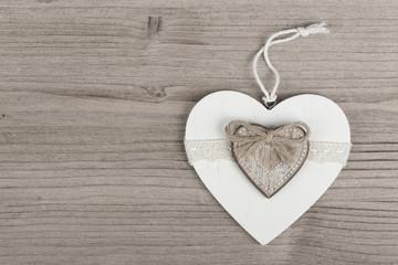 valentine's wooden hearts