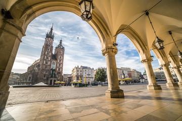Fototapeta Krakow Market Square, Poland obraz