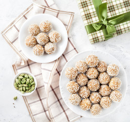 Indian sweets Besan Ladoo