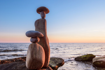 Symbolic stone figurines