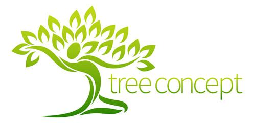 Tree Person Concept