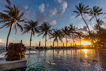 Paradies unter Palmen
