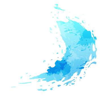 Splatter paint stain abstract background