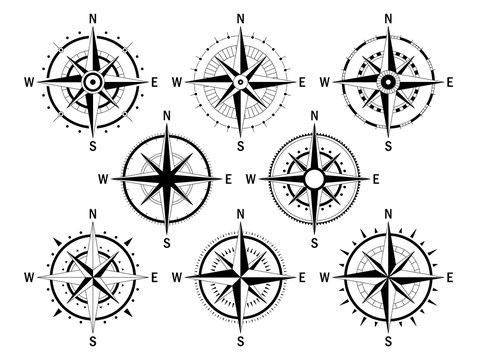 Compas set white