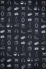 A Shopping pattern of different items
