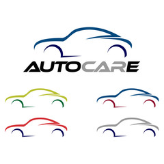 Abstract Car Logo Concept