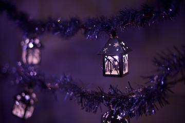 christmas lanterns lights