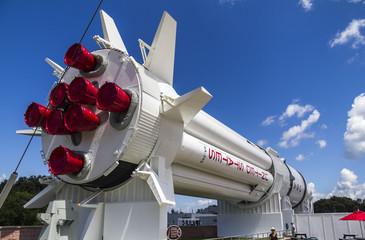 Big Rocket in Kennedy Space Center
