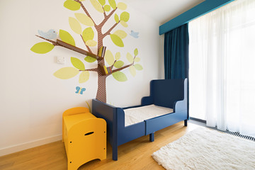 Childrens bedroom interior furniture