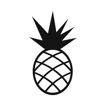 Pineapple simple icon