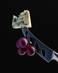 chesse and grape
