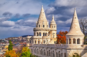 Printed kitchen splashbacks Budapest Fishermen's Bastion in Budapest