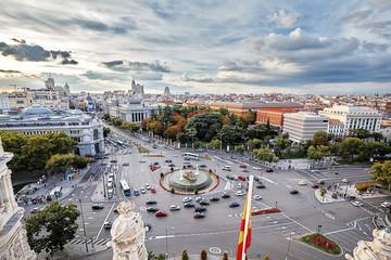 Madrid,  Plaza de Cibeles