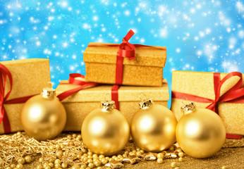 geschenkverpackung golden