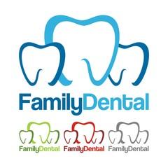 Family Dental Healt Logo Design