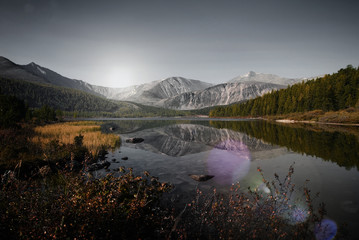 Mogolia Mountain Travel Destination Landscape Concept