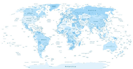 Buscar fotos mapamundi detailed world map blue colors gumiabroncs Images