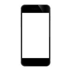 phone isolated on white vector design