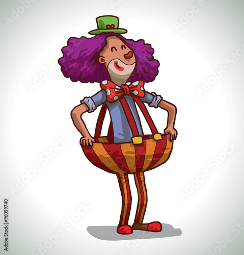 Cartoon Characters With Purple Hair : Blue cartoon characters big nose adultcartoon