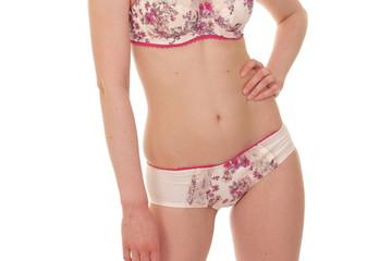 sexy white girl in underwear
