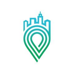 Geo Location logo Vector Template