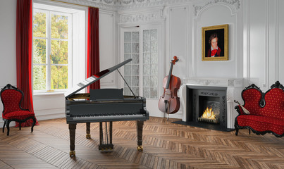 bilder und videos suchen musikzimmer. Black Bedroom Furniture Sets. Home Design Ideas