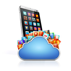 3d mobile phone and cloud apps