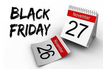 Composite image of black friday
