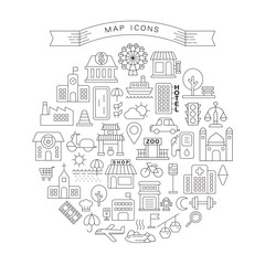 map icons collections