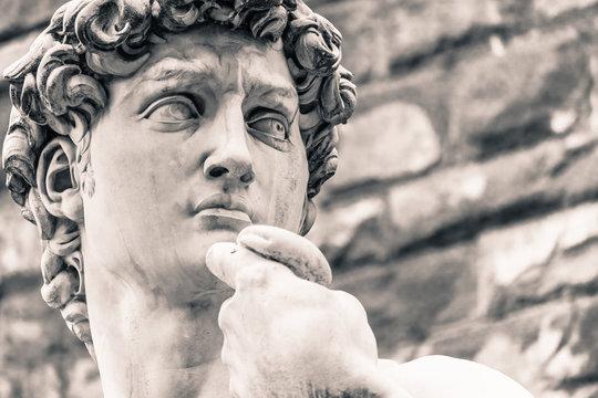 Michelangelo's David Statue, Italian Art Symbol