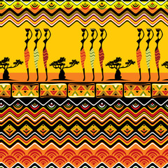 African pattern seamless