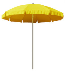 Beach umbrella - yellow
