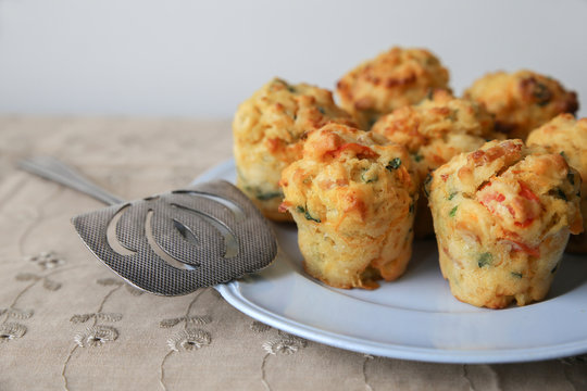 Homemade mini egg muffins Mini quiche, , keto, ketogenic, low carb diet and gluten free food